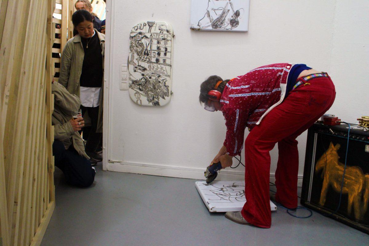 Rowan in Arti in Amsterdam